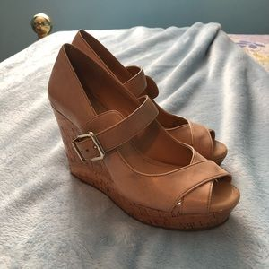 Nude Antonio Melani wedges